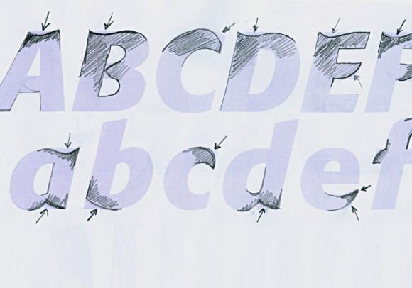 Creazione di un carattere personalizzato<br>per il Gruppo bancario Iccrea, 2008