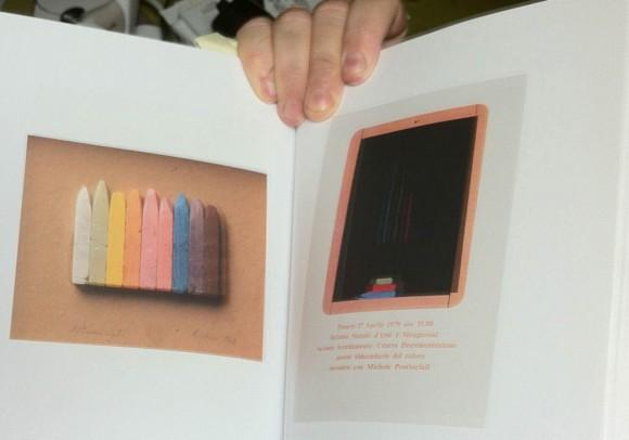 Pubblicazione sui maestri del design:<br>Michele Provinciali, 2006