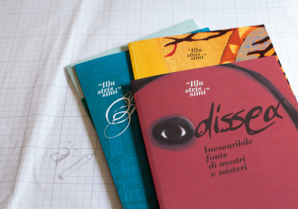 Cataloghi di illustrazione<br>per Comune di Riccione, 2003-2007