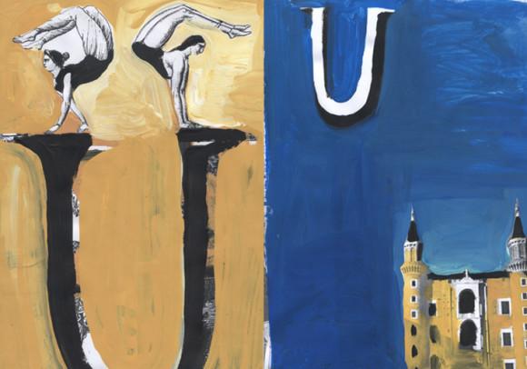 Video Nuovissimo abbecedario<br>dell'Università di Urbino, Urbino 2013
