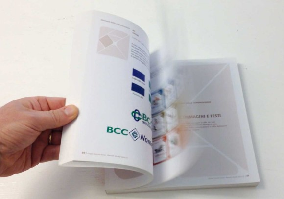 Manuale di immagine coordinata<br>del Gruppo bancario Iccrea, 2009