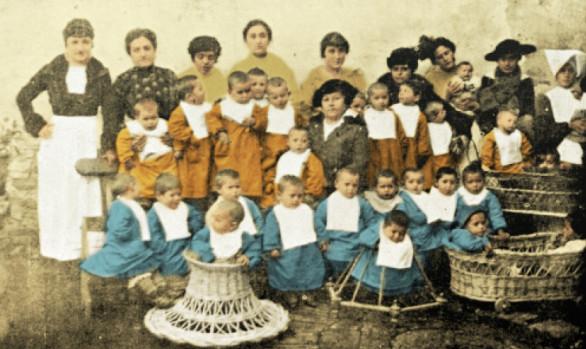 Mostra centenario Fondazione San Giuseppe<br>per l'aiuto materno e infantile, Rimini 2008