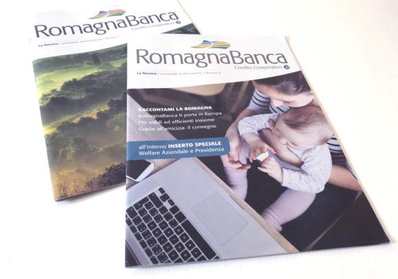 L'house-organ di RomagnaBanca sempre più magazine, 2017