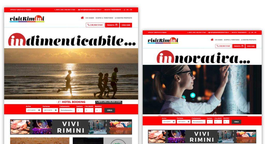 rimini nuovo city brand sito web