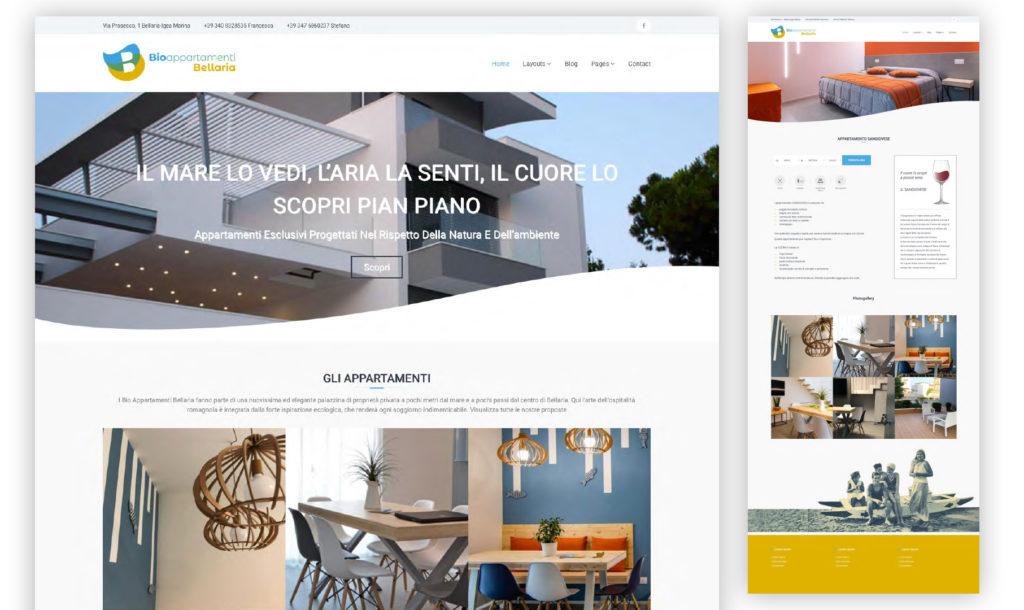 bioappartamenti sito web