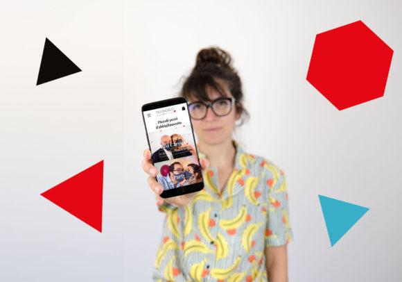 Sito e comunicazione digital per la moda, 2020